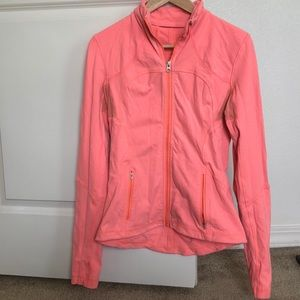 lululemon athletica Jackets & Coats - Coral Lululemon zip-up